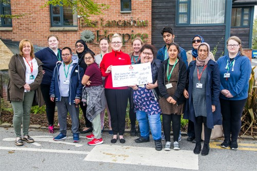 Foundation Learners Raise Monday for East Lancashire Hospice