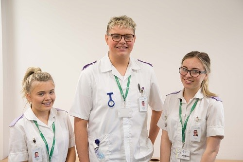 College Health and Social Care Students Set for University Studies