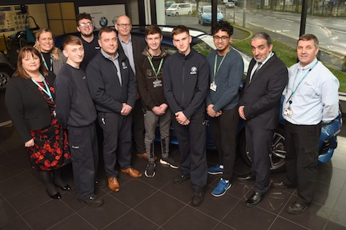 Blackburn College named Pennine Lancashire's Best for Apprenticeship Achievement