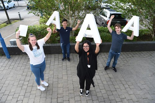 Improved A-Level Grades at Blackburn College